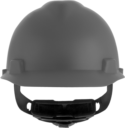 This image shows an MSA V-Gard® type 1 hard hat, carried at macmor, and fully customizable with your organizations logo