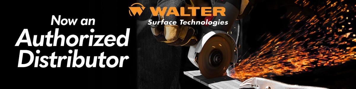 Walter Abrasives Launch Banner