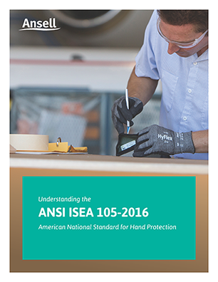 Open PDF of the Ansell - New ANSI and EN388 Cut Level Standards resource