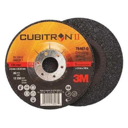 Picture of 3M Cubitron™ II Grinding Wheels – Type 27 (Depressed Centre)
