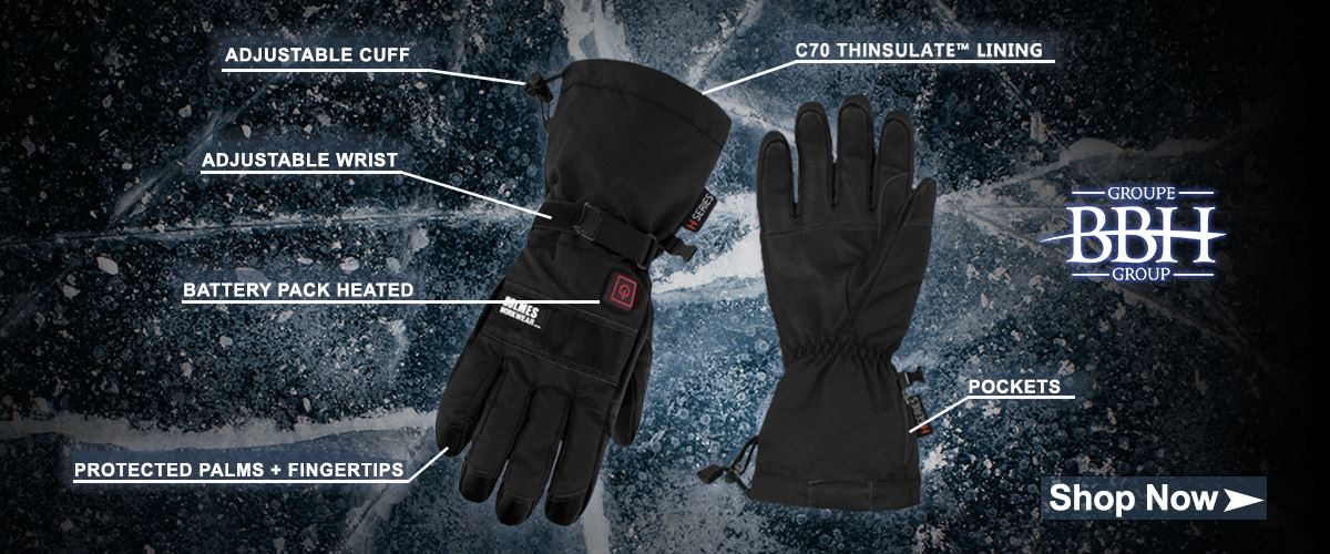 BBH Heated Gloves Available While Supplies Last!
