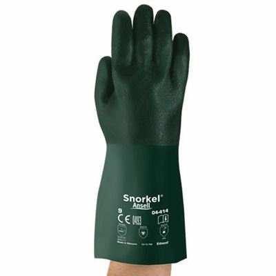 Picture of Ansell Snorkel® Oil and Chemical Resistant Premium PVC Gloves