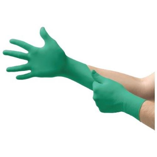 Picture of Ansell Touch N Tuff® 92-500 Powdered Nitrile Disposable Gloves