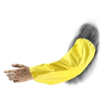 "Picture of Ansell Econo Yellow Neoprene Sleeve - 18"" Length"