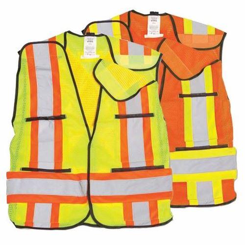 Picture of Big K BK101 Universal Polyester Soft Mesh Safety Vests