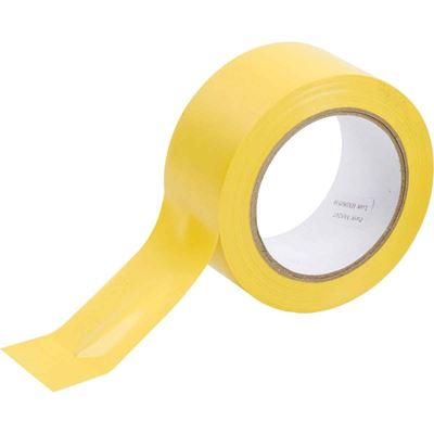 "Picture of Brady Yellow Aisle Marking Tape - 2"" x 36 Yards"