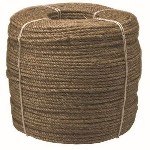 Picture of Canada Cordage 3-Strand Twisted Manila Rope - Jumbo Coils
