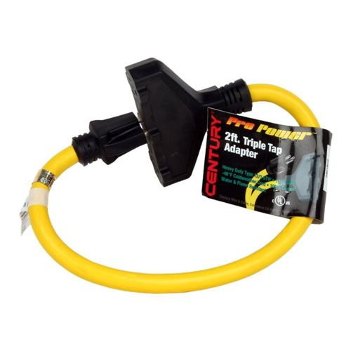 Picture of Pro Classic™ Lighted Triple Outlet 12/3 Cord Adapter