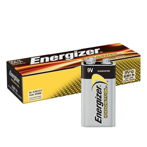 Picture of Energizer® 9V Industrial Batteries