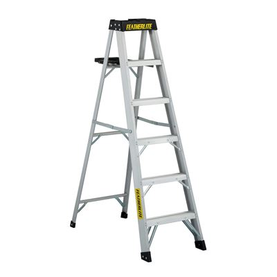 Picture of Featherlite Series 3500 Extra Heavy Duty Aluminum Platform Step Ladder