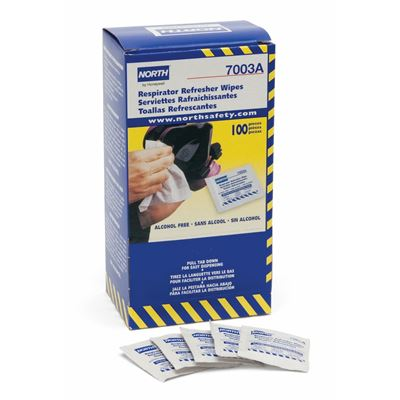 Picture of North by Honeywell Respirator Refresher Wipe Pads
