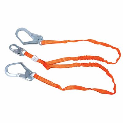 Picture of Miller 6' Titan™ Double Leg Tubular Shock-Absorbing Lanyards