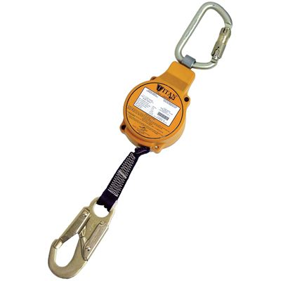 Picture of Miller 11' Titan™ Fall Limiter with Twist-Lock Carabiner & Locking Snap Hook