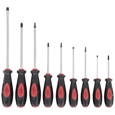 Picture of ITC® Screwdriver Set with Ergonomic Handle - 9 Piece