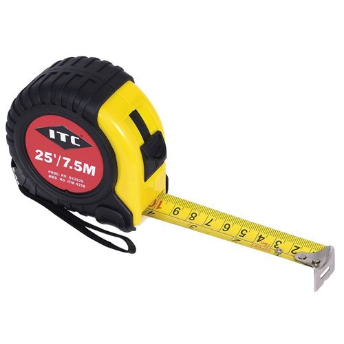 """Picture of JET 1"""" x 25' S.A.E./Metric Tape Measure"""
