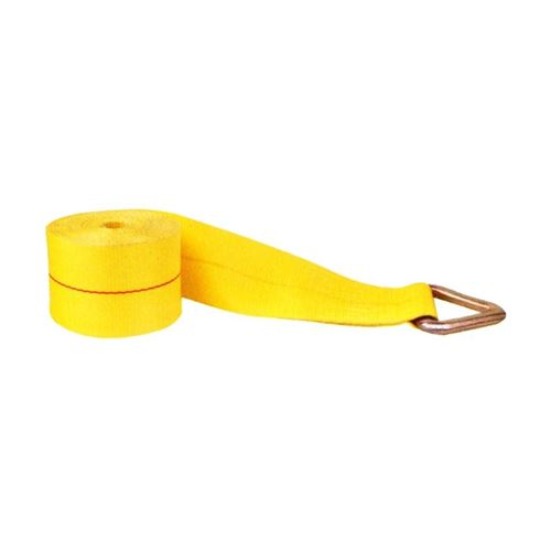 "Picture of Macline 4"" x 30' Cargo Strap with D-Ring"