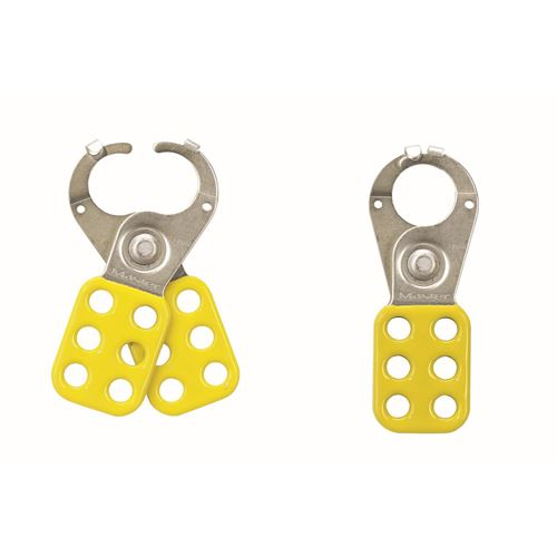 Picture of Master Lock Model 422 Yellow Lockout Hasp
