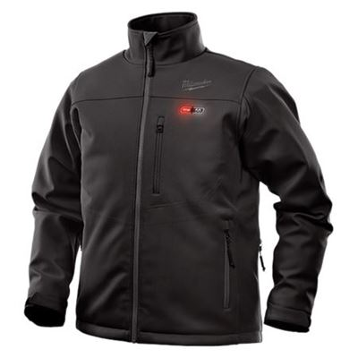 Picture of Milwaukee Black M12™ Heated TOUGHSHELL™ Jacket - X-Large
