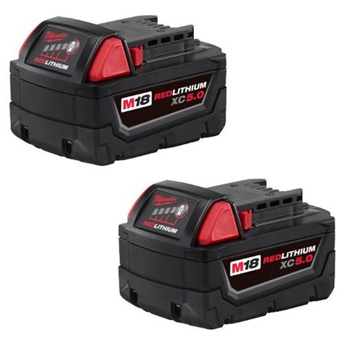 Picture of Milwaukee® M18™ REDLITHIUM™ 5.0AH XC Battery Two Pack