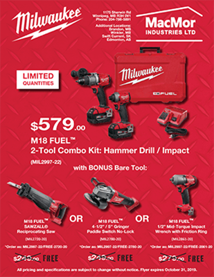 Picture for Milwaukee - September 2019 - Two Tool Kit Flyer