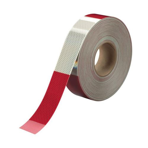 """Picture of 3M Red/White Conspicuity Tape - 2"""" x 150'"""