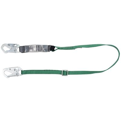 Picture of MSA V-Series 6' Energy-Absorbing Lanyard - 2 Locking Snap Hooks