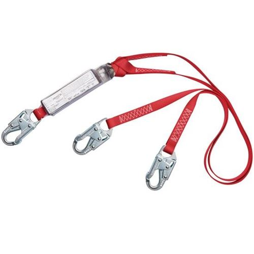Picture of Protecta PRO™ Pack Tie-Off Double Leg E6 Shock-Absorbing Lanyards