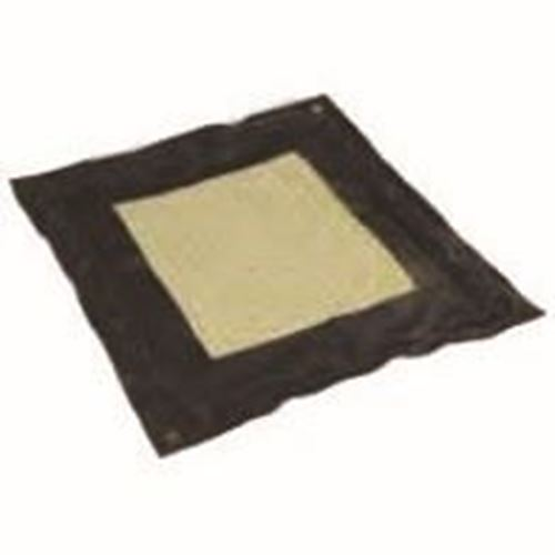 """Picture of Pacific Spill Black Foam Drip Pad - 36"""" x 43"""""""