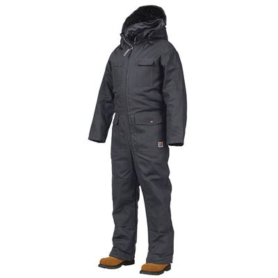 Picture of Work King® 7760 Black Deluxe Insulated Coveralls - Medium