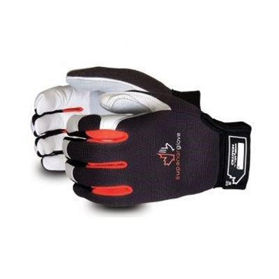 Picture of Superior Glove Clutch Gear® Goatskin Mechanics Gloves