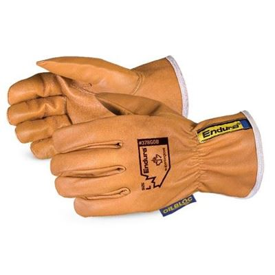 Picture of Superior Glove Endura® Oilbloc™ Goat-Grain Driver Gloves