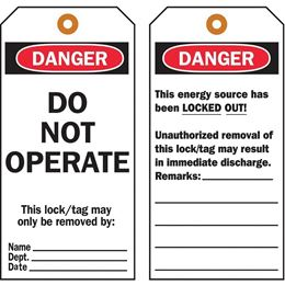 Picture for category Tagout