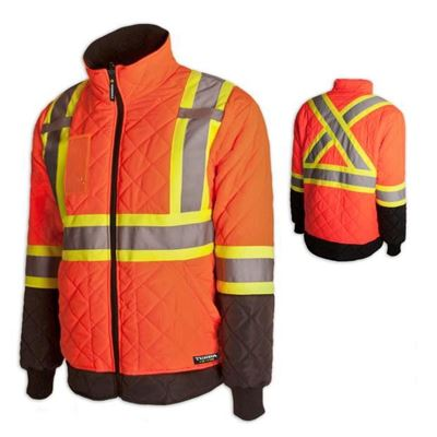 Picture of TERRA Hi-Vis Lined Orange Freezer Jacket