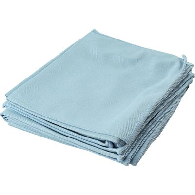 Picture of Wipe-It Blue Microfibre Glass-Cleaning Wipers