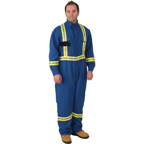 Picture of Viking® 40665 Series Firewall FR® CXP® Nomex® Striped Safety Coveralls
