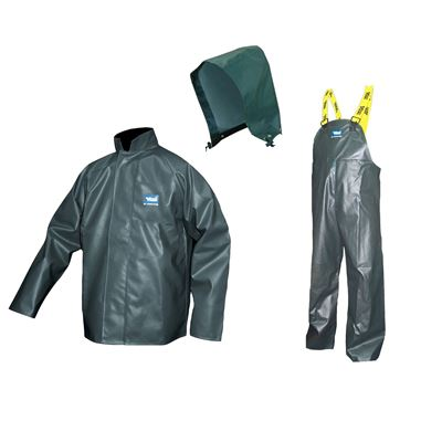 Picture of Viking® 4110 Series Green Journeyman PVC Rain Suit