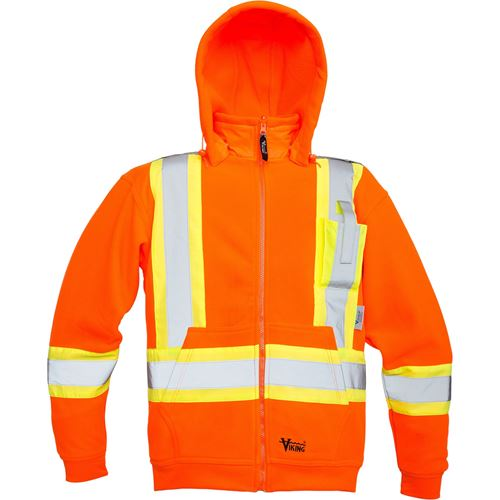 Picture of Viking® Orange 6420 Safety Fleece Hoodie