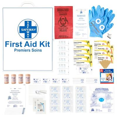 Picture of Alberta Level 3 First Aid Kit - Metal Box