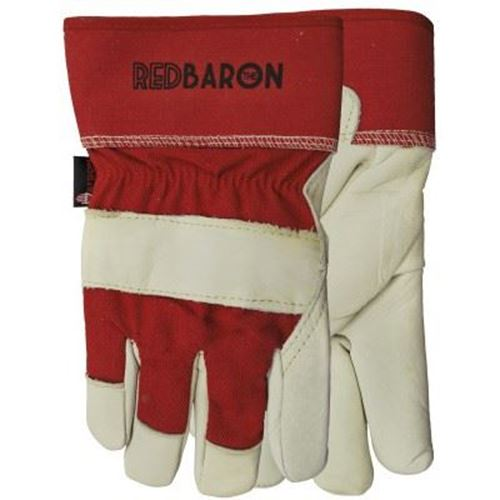Picture of Watson 94002 Red Baron Grain Cowhide Gloves