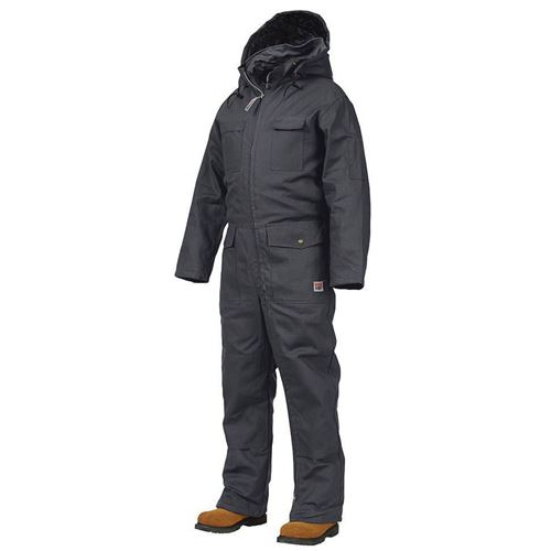 Picture of Work King® 7760 Black Deluxe Insulated Coveralls
